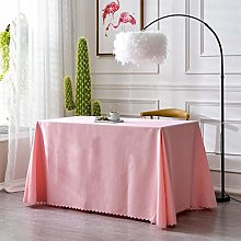 YUMUO Rectangular Velvet Table Cloth,candy Color
