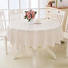 YUMUO Round Printed Tablecloths,PVC Waterproof