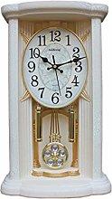 YUN&DSC Clock Retro Desktop Pendulum