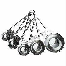 YUNDUO 304 Stainless Steel Measuring Spoon