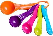 YUNDUO Baking Measuring Spoon Set Plastic