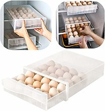 Yunhigh-uk NEW 30 Grid Egg Storage Box Fridge, Egg