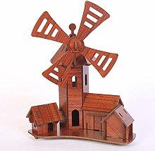 YUNHOME 3D Puzzles Model Mechanical Models 3D