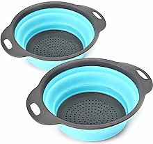 YUNLAN Kitchen tool silicone collapsible colander