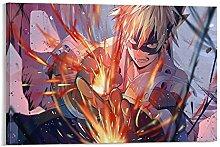 yunlei Bakugou Wallpaper Canvas Art Poster and