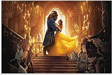 yunlei Beaty And The Beast Canvas Art Poster and