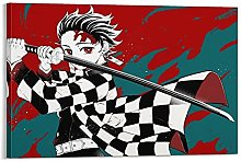 yunlei Demon Slayers Canvas Art Poster and Wall