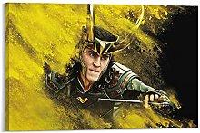 yunlei Loki Series Wallpaper Canvas Art Poster and