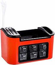 YUNLILI Stylish Seasoning box Shining Spice Rack