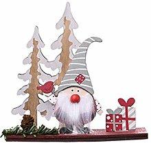 Yunnan Wooden Christmas Swedish Gnome Doll
