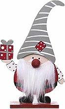 Yunnan Wooden Swedish Gnome Christmas Doll