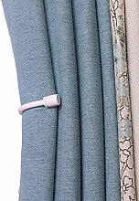 YunNasi 2 Packs Curtain Tiebacks U Style Metal
