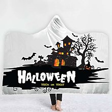 YUNSW Halloween 3D Digital Printing Hooded