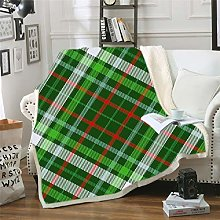 YUNSW Polyester Super Soft Sofa Blanket, Suitable