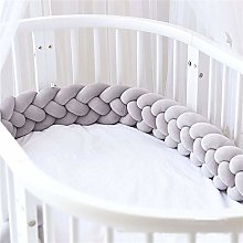 Yunteng Shop Bed Bumpers Baby Crib Bumper Knotted