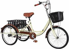 Yunyisujiao 20 Inches Adult Tricycles,