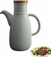 yunyu Handcrafted Ceramic Olive Oil or Vinegar