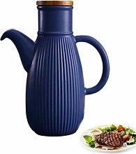 yunyu Handcrafted Ceramic Olive Oil or Vinegar