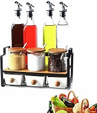 yunyu Oil Vinegar Bottle Pot Dispenser Kitchen