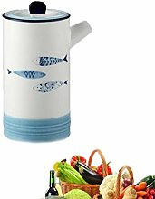 yunyu Oil Vinegar Bottle Pot Dispenser Spice jar