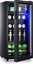 yunyun 118L Beverage Refrigerator Cooler, Mini Bar