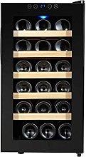 yunyun Drinks Fridge,18 Bottle Wine Cooler Mini