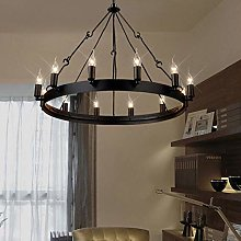 YUNZHI Durable Exquisite Chandelier 12-Lights