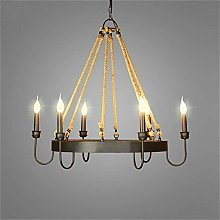 YUNZHI Durable Exquisite Wrought Iron Chandelier