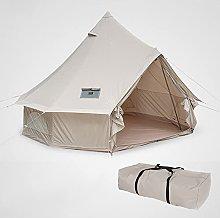 YUNZHIDUAN Camping Tent, Canvas Bell Tent -