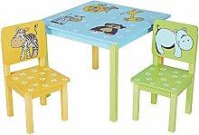 YUQIYU Kid's Study Desk Chair Set Childrens