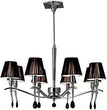 Yuri 8-Light Shaded Chandelier Ebern Designs