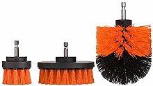YUSHAOLI YSLI 3pcs/set Electric Drill Brush Grout