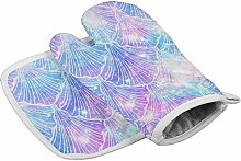 Yutess Heat Resistant insulated oven mitts