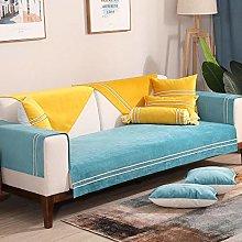YUTJK l shaped Sofa Protector,Composite Velvet
