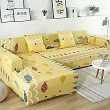YUTJK Modern Settee Loveseat Sofa towel,Printed