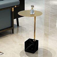 YUTR Marble Small Coffee Table Living Room Sofa