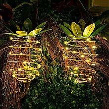 YUXIAN Outdoor Waterproof Garden Pineapple Solar