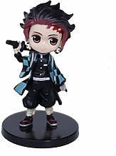 YUY Anime Figures Q Version, Newest 6pcs Demon