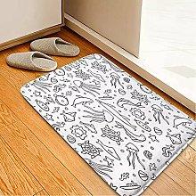 YUZE 40x60 cm Entrance mat Living Room Carpets