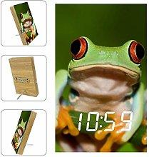 Yuzheng Frog J01 Digital Alarm Clock Bedside Mains