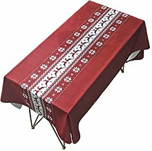 YuzhijieChristmas | red table cloth | living