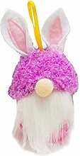 YUZI Easter Decoration, Easter Bunny Gnome Cookie