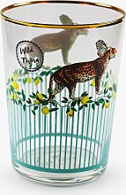 Yvonne Ellen Cheetah Highball Glass, 550ml,