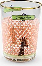 Yvonne Ellen Giraffe Highball Glass, 550ml,
