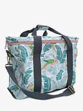Yvonne Ellen Picnic Cooler Bag, 20L, Blue/Multi