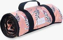 Yvonne Ellen Tiger Picnic Blanket, Pink