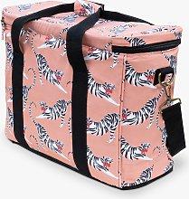 Yvonne Ellen Tiger Print Picnic Cooler Bag, 20L,