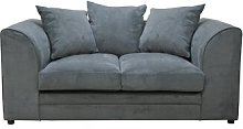 Yvonne Loveseat Marlow Home Co. Upholstery: Grey
