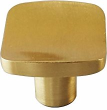 YWF Handles 5 Square Arc Streamline Brass Handles,
