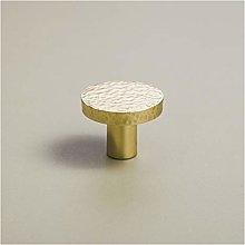 YWF Handles Handmade Brass Round Cabinet Door